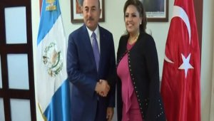 Bakan Çavuşoğlu, Guatemalalı mevkidaşı Polanco ile görüştü