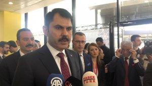 """Bakan Murat Kurum: """"Sıfır atık projesi ile 100 bin kişiye istihdam"""""""