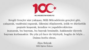 Bakan Selçuk'tan 19 Mayıs mesajı