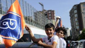 Başakşehir takımı Seyrantepe'ye hareket etti