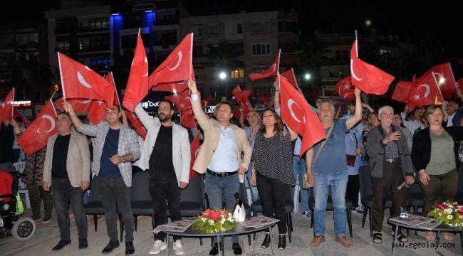 Başkan Aksoy '19 Mayıs Demokrasi Fişeğini Ateşlemiştir'