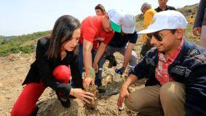 Başkan Sengel:'Fidanlar toprağa onlar hayata kök salsın'