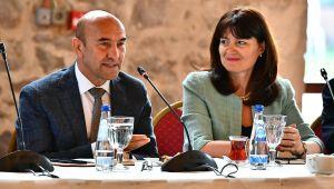 Başkan Soyer, 'Dünyanın en güzel iki kentini birleştireceğiz'