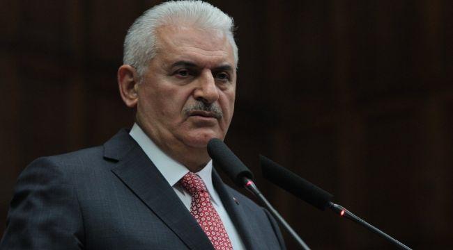 Binali Yıldırım Atatürk Rallisi'nin başlangıç törenine katıldı