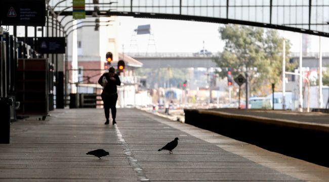 Buenos Aires'te hayat durma noktasına geldi