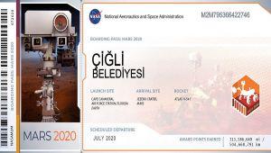 Çiğli Belediyesi Mars'ta !