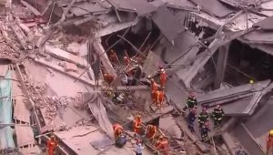 Çin'de bina çöktü, 20 kişi enkaz altında kaldı