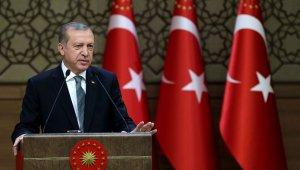 """Cumhurbaşkanı Erdoğan'ın """"19 Mayıs"""" mesajı"""