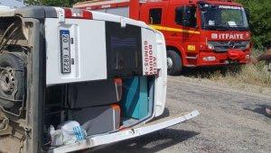 Denizli'de trafik kazası:7 yaralı