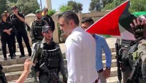 DENK partisi Milletvekili Kuzu'ya İsrail polisinden gözaltı