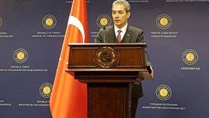 Dışişleri Sözcüsü Aksoy'dan ABD Dışişleri Sözcüsüne cevap