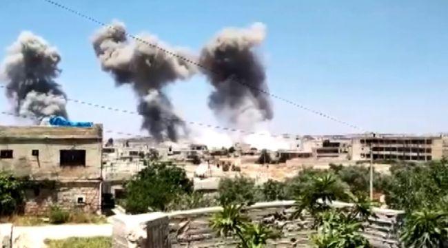Esad rejiminin saldırılarında ölü sayısı 21'e yükseldi
