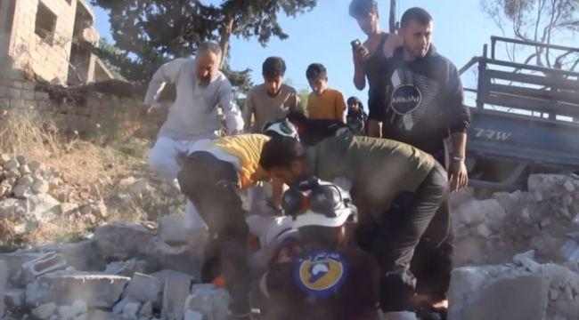 Esad rejiminin ve Rus uçaklarının İdlib'e saldırıları devam ediyor: 16 ölü