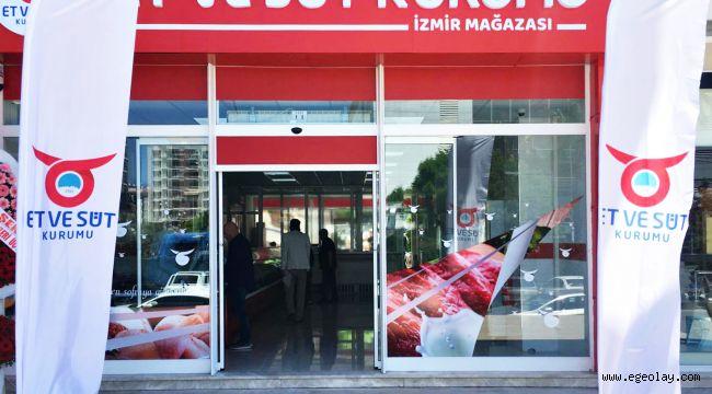 Et ve Süt Kurumu İzmir Mağazası Hizmete Açıldı