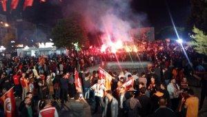 Galatasaray şampiyonluğu Ankara'da kutlanıyor