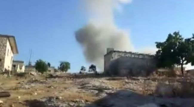 Halep'te rejim saldırısı: 8 ölü