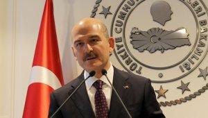 İçişleri Bakanı Süleyman Soylu Beykoz'da muhtarlarla bir araya geldi