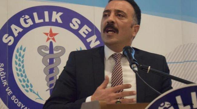 ''İl sağlık Müdürü Kanunsuz Sendikacılığa Dur Demeli''
