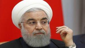 """İran Cumhurbaşkanı Ruhani: """"Bu şartlarda müzakere olmaz"""""""