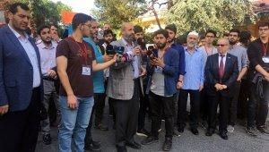 İstanbul'da Suud hükümetinin idamları protesto edildi