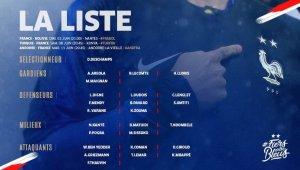İşte Fransa'nın Türkiye maçı kadrosu