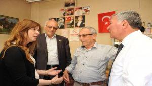 İzmir'den Honaz'a hemşehri desteği
