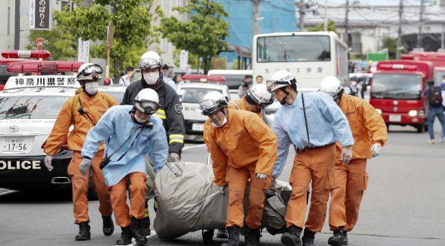 Japonya'da bıçaklı dehşet: 2 ölü, 16 yaralı