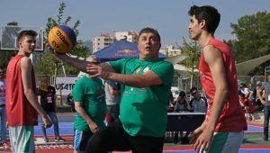 Karşıyaka'da Streetball coşkusu başladı
