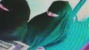 Kuyumcu hırsızlığı güvenlik kamaralarına takıldı