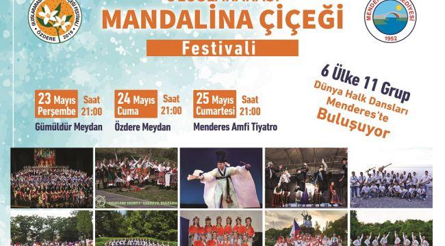 Menderes'te Festival Zamanı