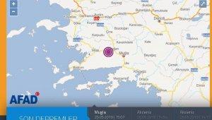 Muğla'da 3.9 büyüklüğünde deprem meydana geldi
