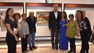 Narlıdere'de yeni ressamlar yetişiyor
