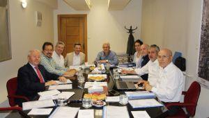 Ödemiş OSB'de Başkan Eriş ile ilk Yönetim Kurulu Toplantısı Yapıldı