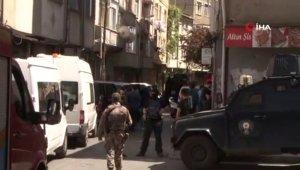Okmeydanı'nda hava destekli terör operasyonu düzenlendi