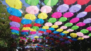 Özbekistan'da geleneksel Çiçek Festivali coşkuyla kutlandı