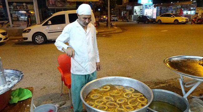 Ramazanda halka tatlısına rağbet arttı