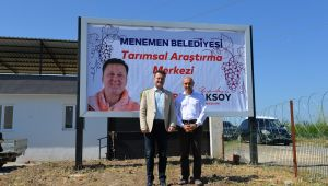 Soyer'den Aksoy'a Tarım Projelerine Destek İçin İlk Adım