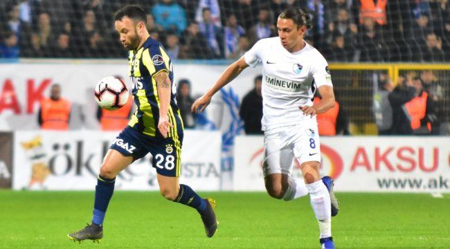 Spor Toto Süper Lig: BB Erzurumspor: 0 - Fenerbahçe: 0