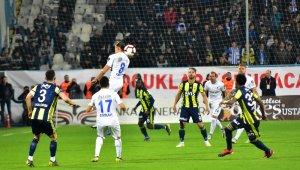 Spor Toto Süper Lig: BB Erzurumspor: 0 - Fenerbahçe: 1