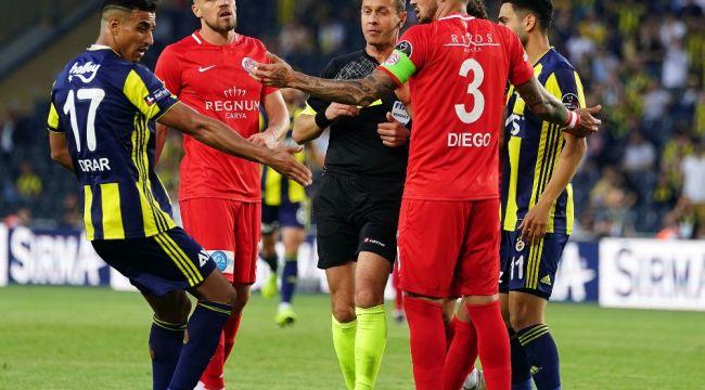 Spor Toto Süper Lig: Fenerbahçe: 3 - Antalyaspor: 1