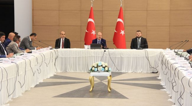 Süleyman Soylu Arnavutköy'de Muhtarlarla Buluştu