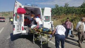Suriyeli öğrencileri taşıyan minibüs takla attı: 12 yaralı