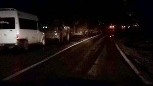 Van'da askeri araç devrildi: 3 asker yaralı