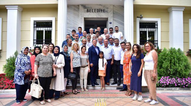 Bornova'da çalışmak, üretmek isteyene belediye desteği