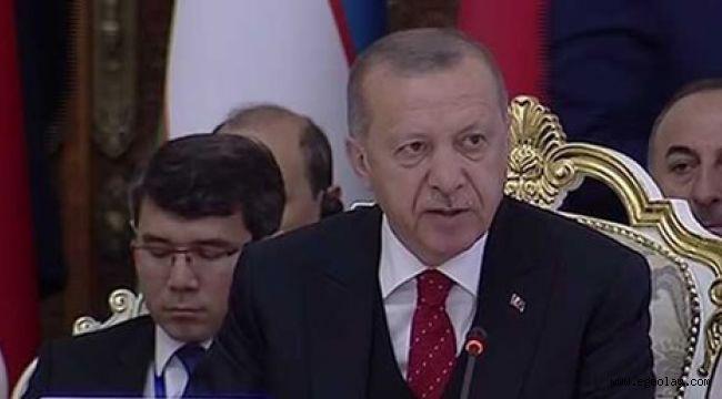 Cumhurbaşkanı Erdoğan: Kudüs'te yeni oldu bittiler oluşturma gayretlerini reddediyoruz
