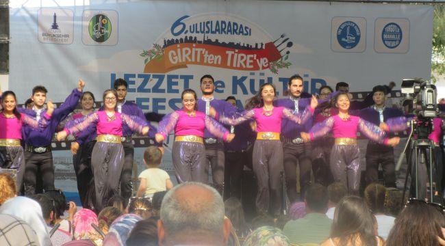 Girit'ten Tire'ye Lezzet ve Kültür Festivali'ne yine ilgi büyüktü
