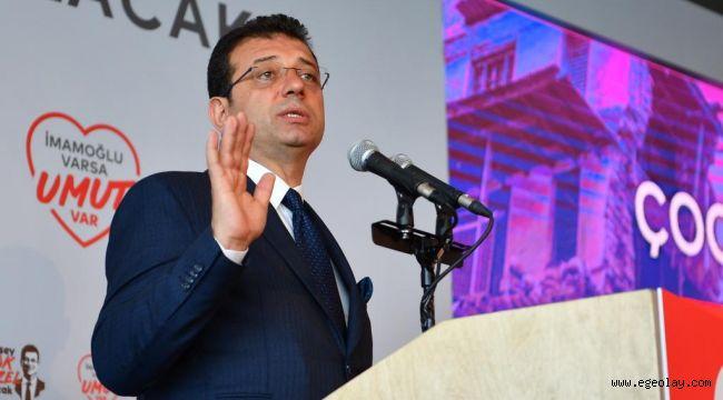 İmamoğlu: 23 Haziran seçimleri Yıldırım-İmamoğlu mücadelesi değildir