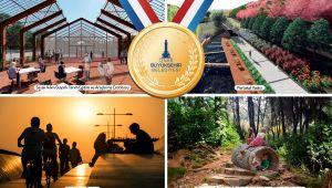 İzmir Büyükşehir Belediyesi'nin projelerine ödül yağdı
