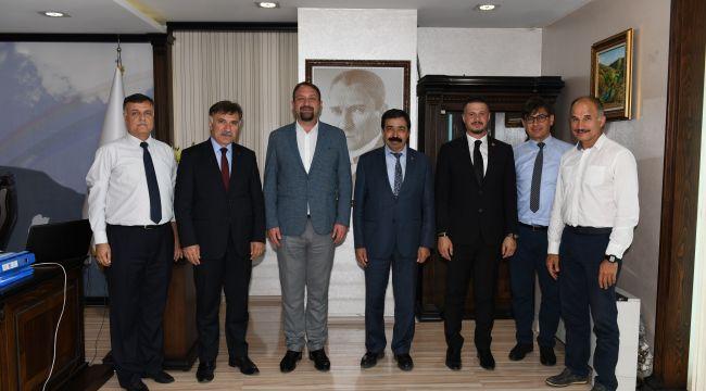 İzmir Katip Çelebi Üniversitesinden ziyaret