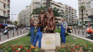 Konak'ın heykelleri koruma altında